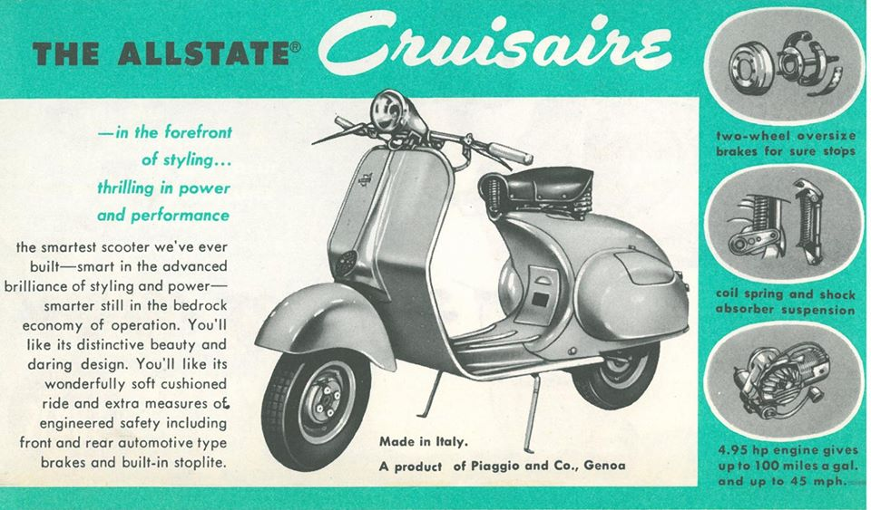 788.94490 Allstate Super Cruisaire Piaggio