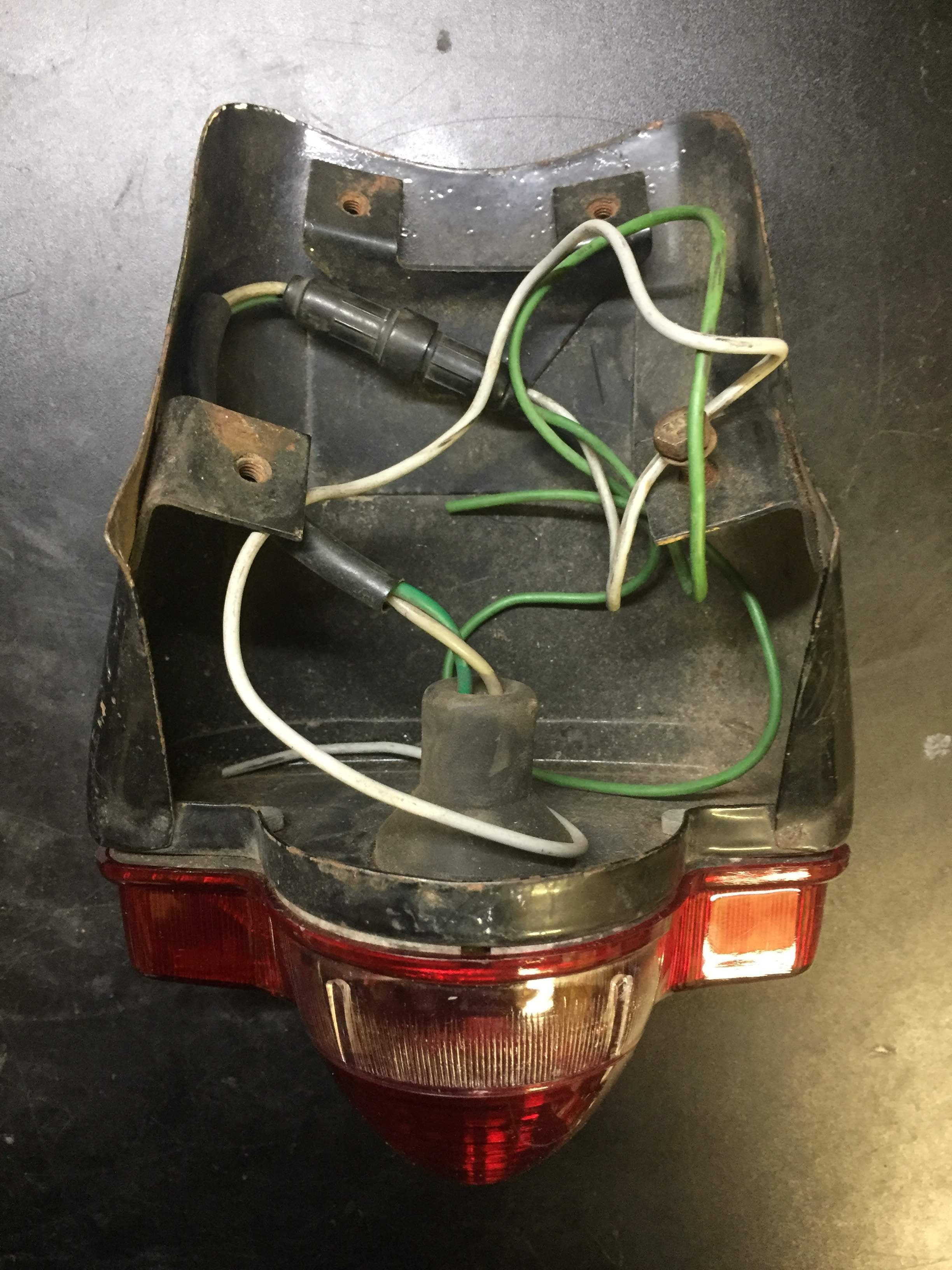 Sears Puch 175 and 250 Taillight