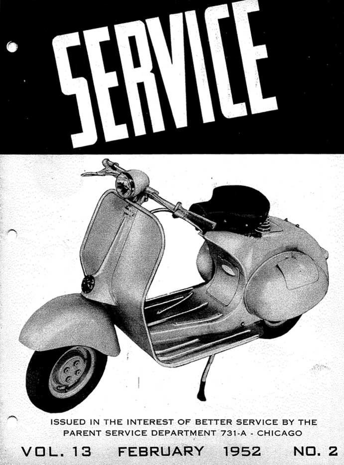 Allstate Cruisaire February 1952 Service Manual