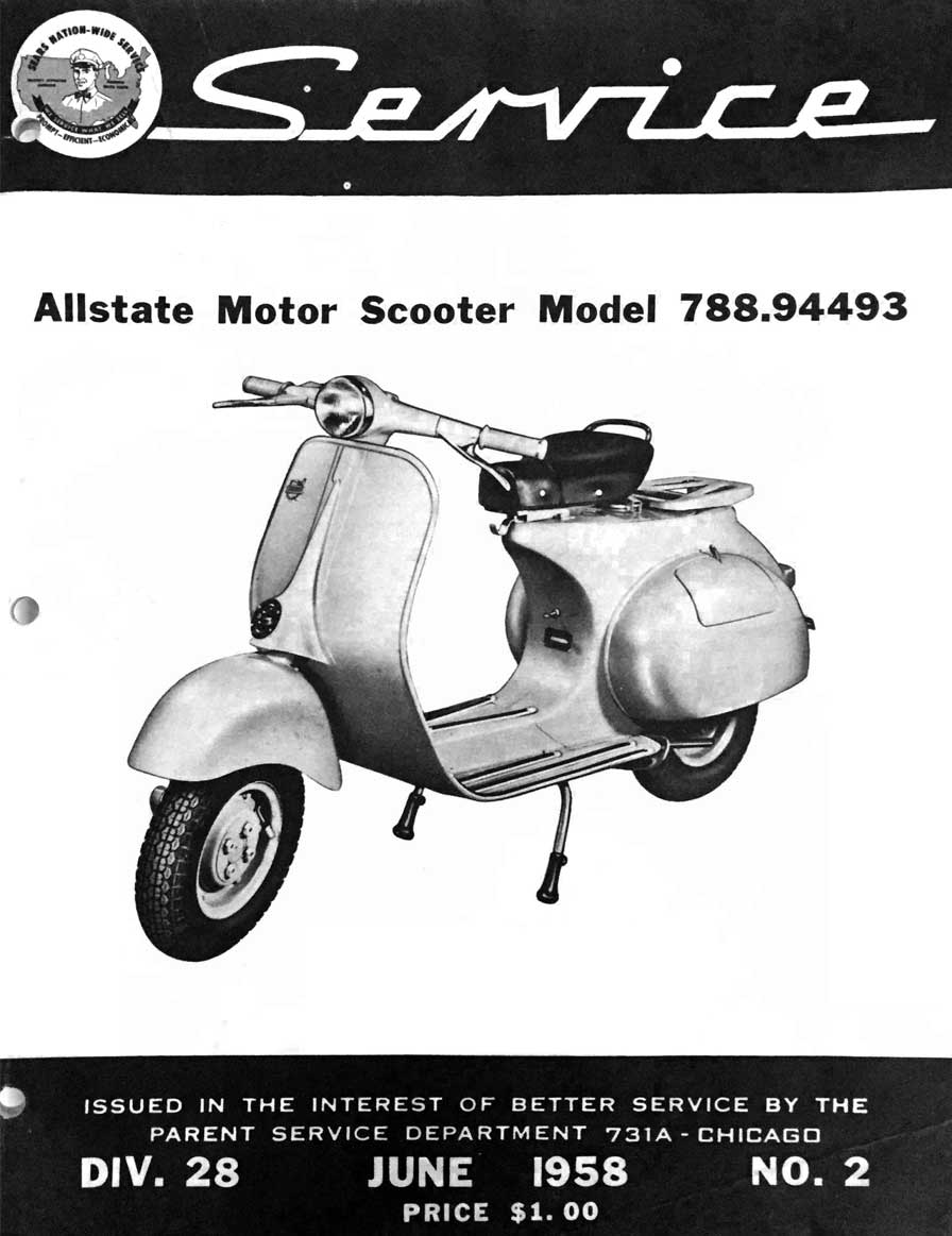 Allstate Cruisaire June 1958 Service Manual