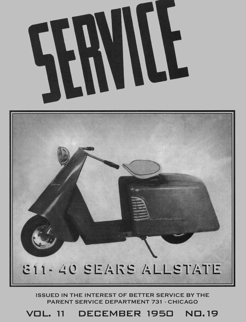 Allstate Cushman December 1950 Service Manual