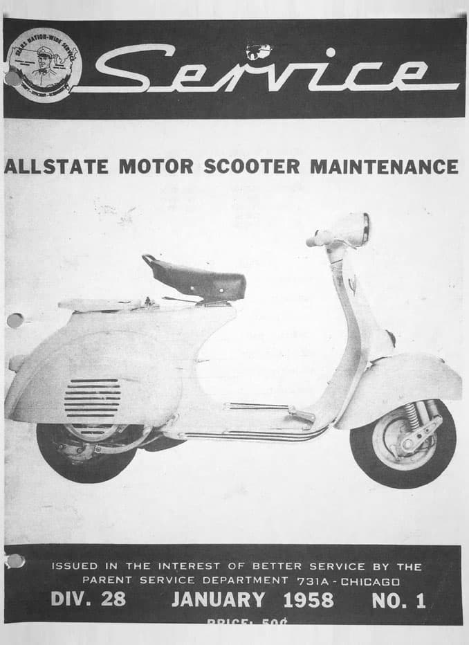 Allstate Cruisaire January 1958 Service Manual